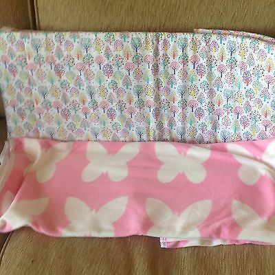 Mothercare Norwegian Wood Cot Bumper And Fleece  Blanket Also For A Cot Bed