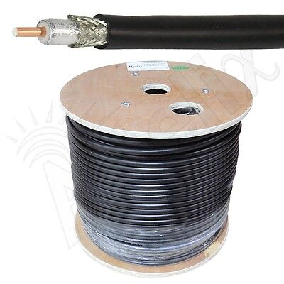 Altelix AX400FR LMR400 Type Riser Rated Low Loss Cable 500 Foot Reel 500 FT