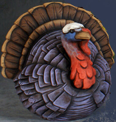 Ceramic Bisque Ready to Paint Whittled Turkey