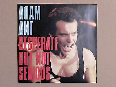 "Adam Ant - Desperate But Not Serious (7"" Vinyl Single)"