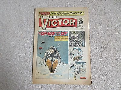 THE VICTOR COMIC No 70- JUNE 23RD 1962- THE SKI-MEN FROM THE SKY.