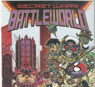 SECRET WARS  BATTLEWORLD  #1 (STOKOE VARIANT) Marvel NM B&B