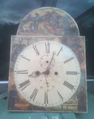 Longcase Clock Movement Only - For Spares/Repairs - Grandfather