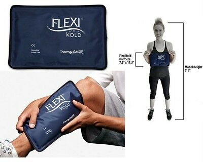 Cold Therapy Pad Reusable Gel Ice Pack Pain Relief Sport Compress Injury Wrap