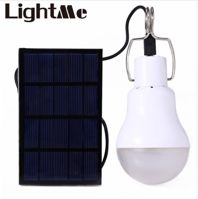 Energy Conservation S-1200 15W 130LM Portable Led Bulb Light Charged Solar