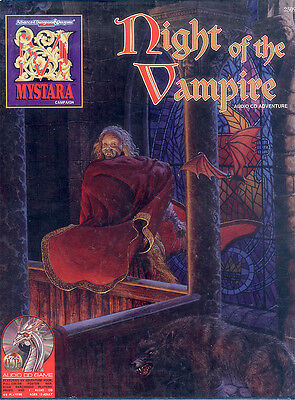 Mystara AD&D 2nd. Ed. - Night of the Vampire TSR2509