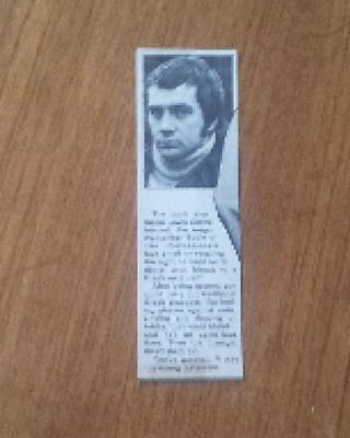 Lewis Collins Pros Article Quote from Book abt infamous Greek restaurant visit