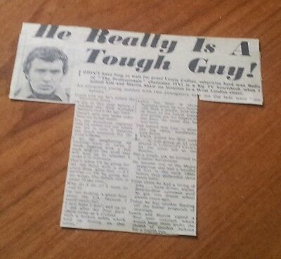 Lewis Collins Bodie Really is a Tough Guy Interview