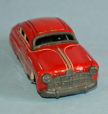 "vintage TIN litho 1948 HUDSON COMMODORE 6"" Sedan TIPPCO 1000 Wind Up US zone GER"