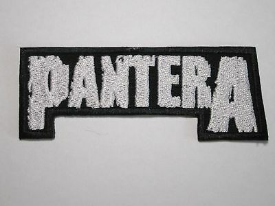 PANTERA logo embroidered NEW patch