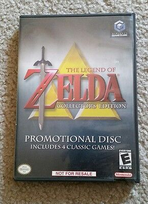 The Legend Of Zelda Collector's Edition GameCube Complete Nintendo TESTED