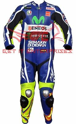 Valentino Rossi Motorbike Motorcycle Racing 2016 Leather Suit By GIE