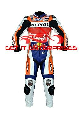 Marc Marquez Motorbike Motorcycle Racing 2016 Leather Suit By GIE