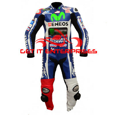Jorge Lorenzo Motorbike Motorcycle Racing 2016 Leather Suit By GIE