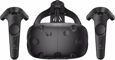 BRAND NEW HTC VIVE - Virtual Reality System & Controllers SEALED - UK STOCK