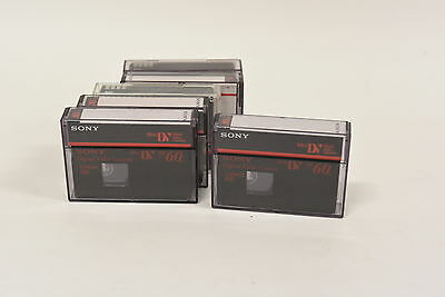 Sony Mini DV Digital Video Cassette - 60 Minutes - DVM60 ME - MiniDV