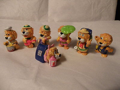 Kinder Surprise 1993 Leo Venturas Lions 7 Figures Nice See Pictures Rare