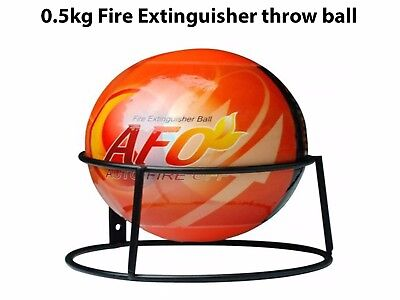 AFO Fire Extinguisher Easy Throw Ball Stop Fire Loss Tool Safety 0.5KG Craddle