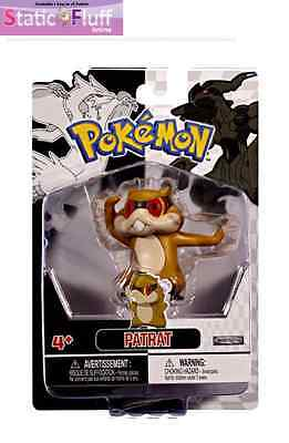 Pokemon Black and White Single Figure Patrat  (Jakks Pacific) Anime
