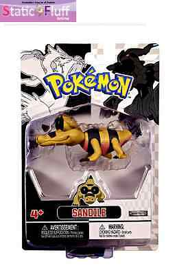 Pokemon Black and White Single Figure Sandile (Jakks Pacific) Anime