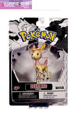 Pokemon Black and White Single Figure Deerling  (Jakks Pacific) Anime