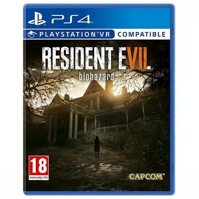 Resident Evil 7 Biohazard PS4 Playstation 4 PSVR Game Brand New