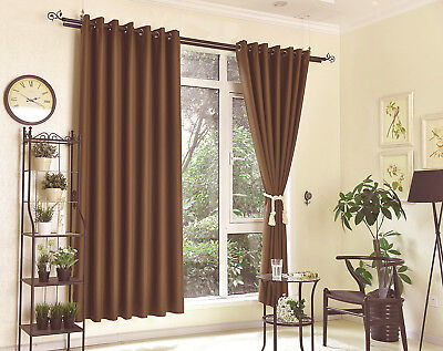 High Quality Blockout Curtain Eyelet Curtains 100% Blackout Room Darkening