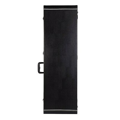 NEW Crossfire Bass Guitar Standard Rectangular Hard Case (Black)