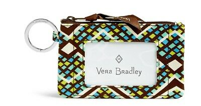 Vera Bradley Zip ID Case ~ Brand NEW with Tags! Great Gift. Free SHIPPING!
