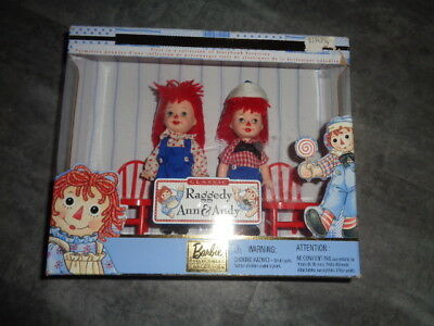 Barbie Collectibles Collection - Raggedy Ann& Andy Collector Edition - Unused
