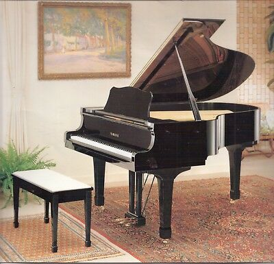 Yamaha C3 Grand Piano  In Canberra Pristine Condition.