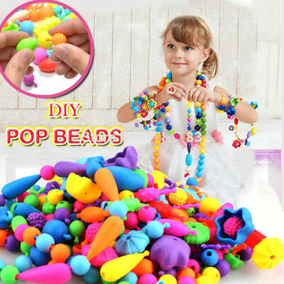 120Pcs Diy Changed String Beads Intelligence Toys Puzzle Games Christmas Gift