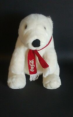 1993 vintage Coca cola collectors teddy bear Dakin