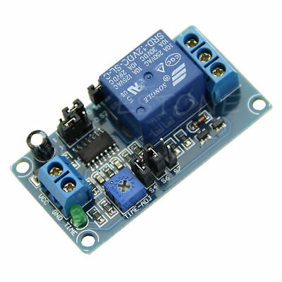 12V Delay DC Relay Delay Turn on / Delay Turn off Switch Module with Timer
