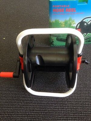 Portable Garden Water Hose Reel 13mm Hose Up To 20meter, 16mm Hose Up To 15m