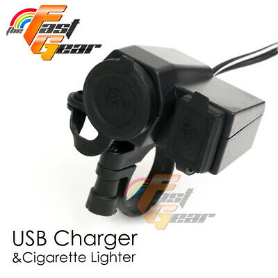 For Kawasaki For iPod iPhone 12V USB Waterproof Power Charger Outlet 2.1A 12V