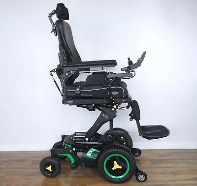 "Permobil F3 wheelchair - with PJSM built-in Bluetooth, 12"" seat elevation & more"