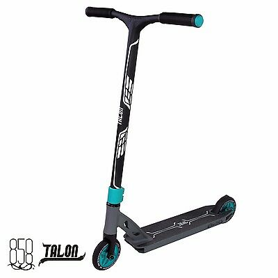 NEW Ride 858 QUALITY TALON PRO SCOOTER COMPLETE GUN GREY & MATTE TEAL