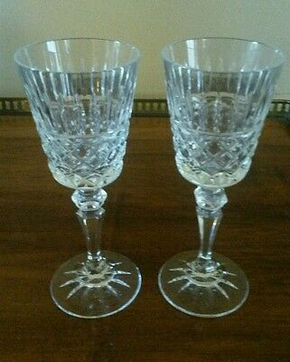Two Galway Crystal Sherry Glasses.