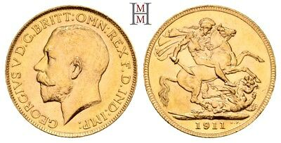 HMM - Kanada Georg V. 1910-1936 Sovereign 1911 C KM 20 Fr. 2 - 170909026
