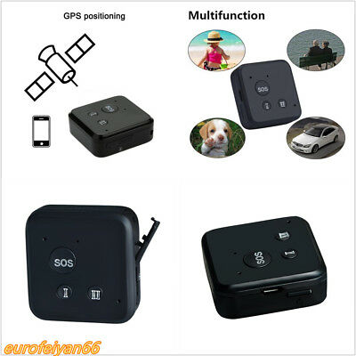 Black GSM GPRS GPS Tracker Car SUV Pet Baby Realtime Tracking System Support SOS