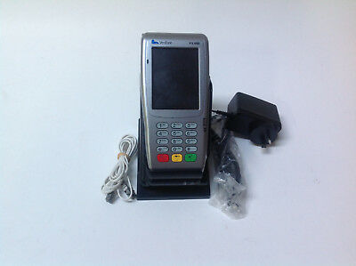 Verifone Vx680 3G Wireless Credit Card Terminal Power Supply Screen