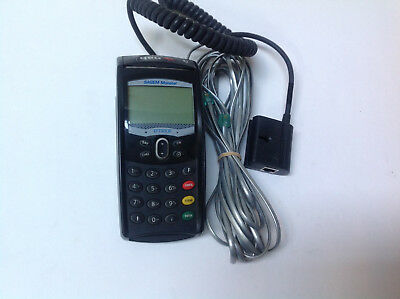 Sagem Monetel Eft930 Credit Card Terminal Power Supply Screen