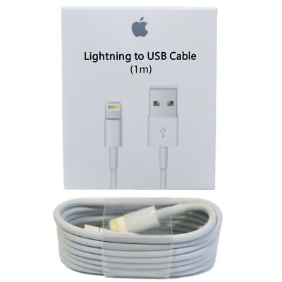 Original OEM Apple iPhone 7 Plus 6s 5 USB Lightning Charger/Data Cable