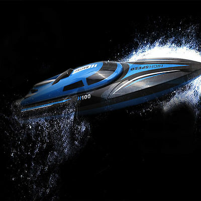 Skytech H100 2.4GHz 4CH High Speed Electric Racing Remote Control RC Boat 30KM/H