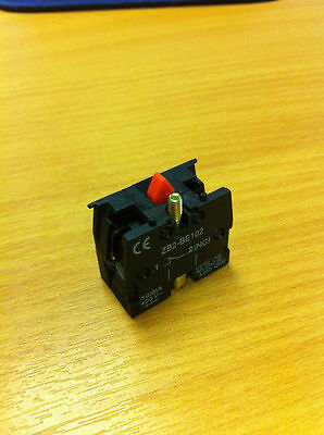 ZB2-BE102 Telemecanique Style Contact Block 1 NC