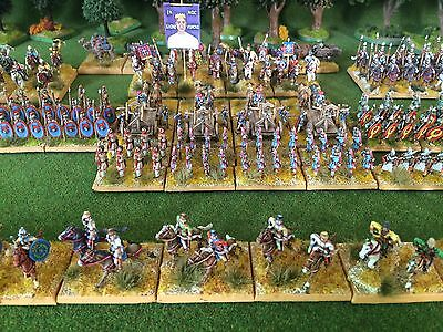 15mm Ancient DPS Premier Painted DBM FOG ADLG Late Imperial Roman Army DBM279