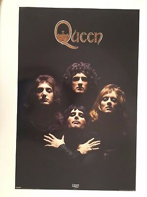 QUEEN, PHOTO BY MICK ROCK,RARE AUTHENTIC 2000's POSTER