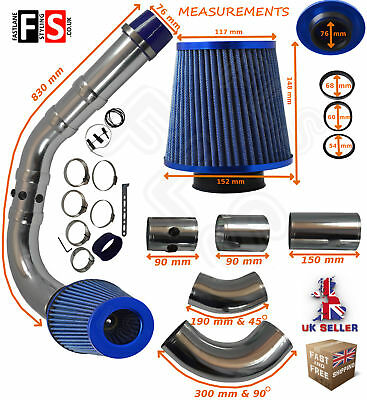UNIVERSAL PERFORMANCE COLD AIR FEED INDUCTION PIPE FILTER KIT 2103BF-Vauxhall 1