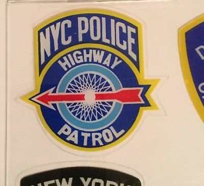 """NYS State NY Highway Police InWindshield """"Real"""" Decal **Others Available"""